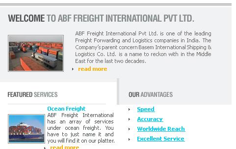 ABF Freight International Pvt Ltd